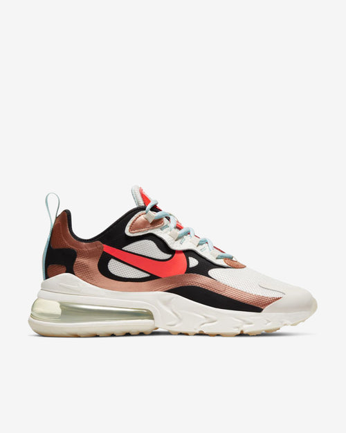 W AIR MAX 270 REACT - RED/BRONZE