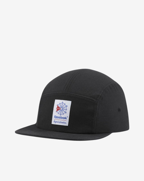 CL FO 5 PANEL CAP - BLACK