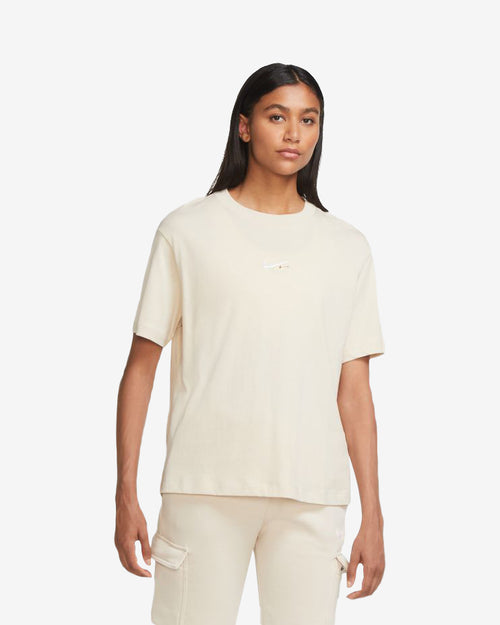 W NSW ESSENTIAL TOP SS - OATMEAL