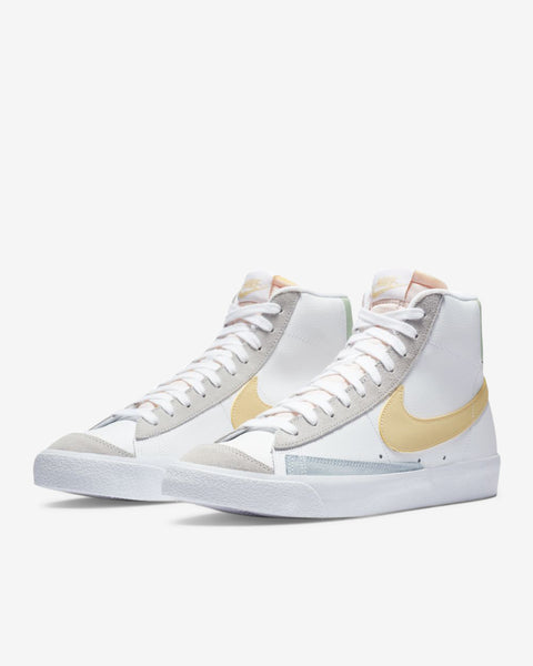 BLAZER MID '77 - WHITE/LEMON