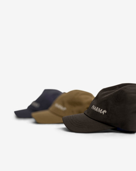 SMALL LOGO CAP SHORT BRIM - NAVY