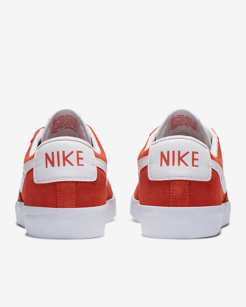 BLAZER LOW SUEDE - ORANGE