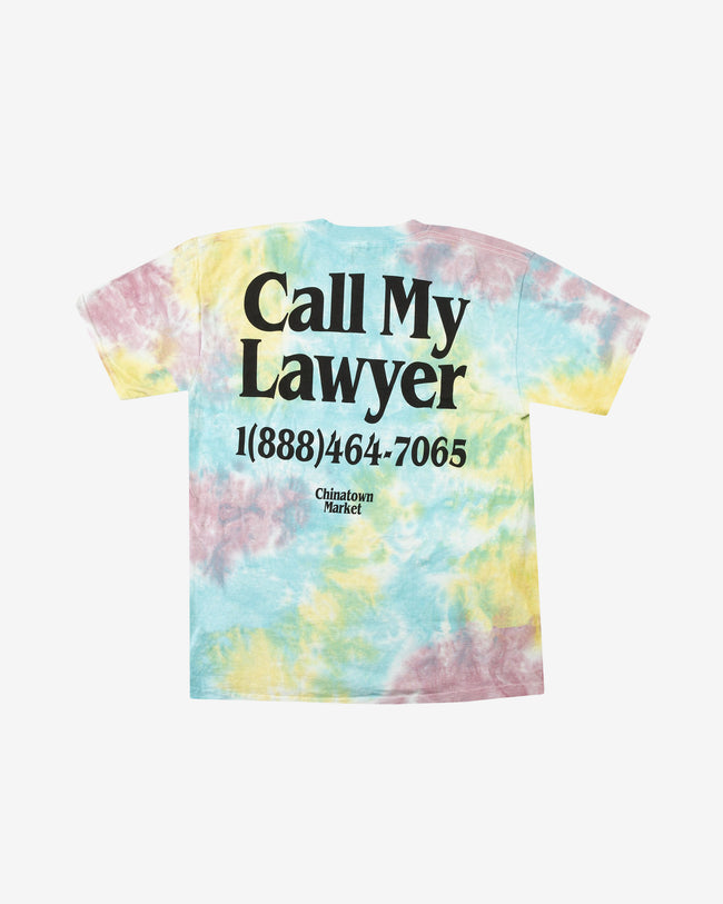 LAWYER T-SHIRT - TIE DYE