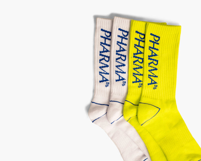 BIG LOGO SOCKS - NEON