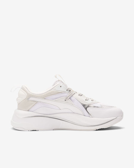 GEL KAYANO 14 - WHITE/RED