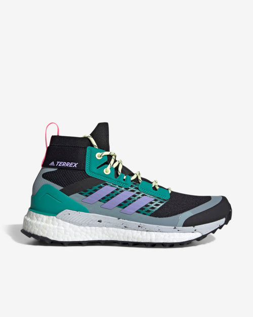 TERREX FREE HIKER W - BLACK/PURPLE