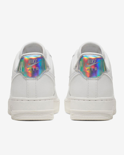 W AIR FORCE 1 - WHITE/METALLIC