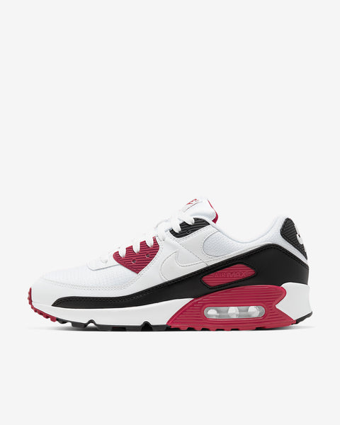 AIR MAX 90 - WHITE/MAROON