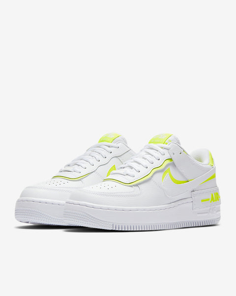 W AF1 SHADOW - WHITE/LEMON