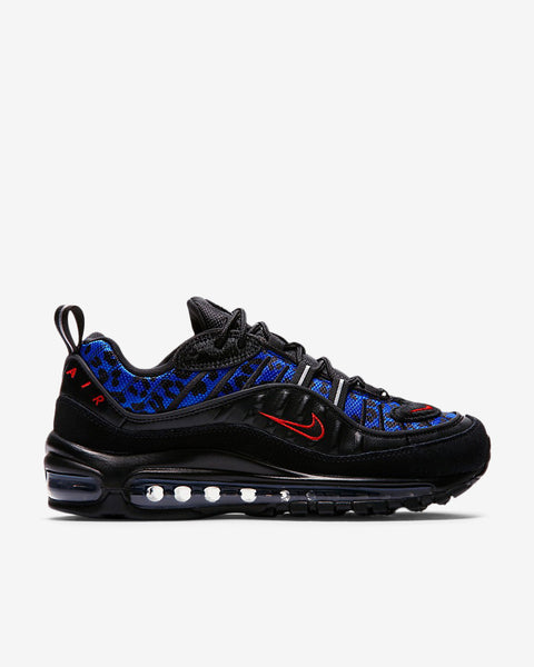 W AIR MAX 98 PRM ANIMAL BLACK