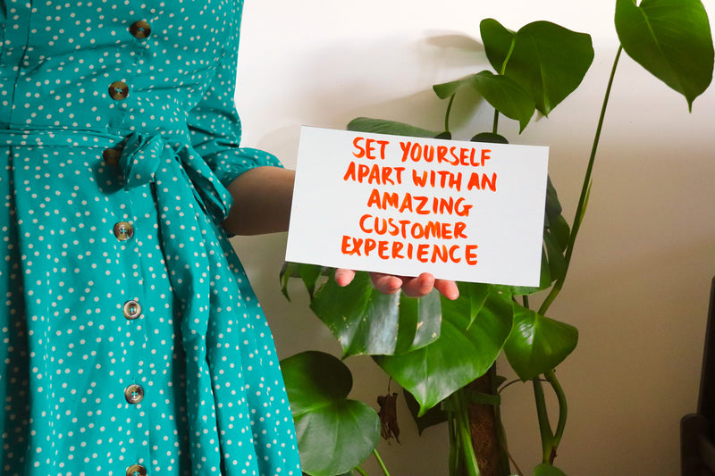 Set Yourself Apart with an Amazing Customer Experience