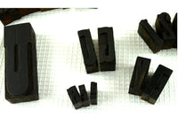 32 Antique Wood block Letters Typeset Letterpress Different Size Assortment - ChaseyBlueVintage