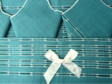Vintage Hostess Napkin and Placemat Set Teal New In Box - ChaseyBlueVintage