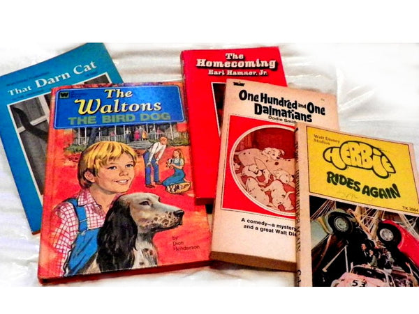 5 TV Show and Movie Paperbacks Retro Reading Books - ChaseyBlueVintage