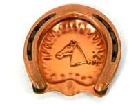 Retro Gregorian Copper Horseshoe Ashtray - ChaseyBlueVintage
