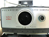 Polaroid 101 Bellows Land Camera with Manual Detachable Flash - ChaseyBlueVintage