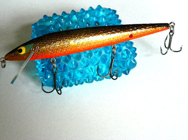 Vintage Fishing Lure Crankbait 3 Triple Hook Jig by Smithwick - ChaseyBlueVintage