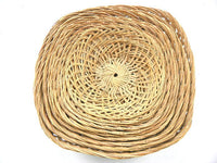 Unique 10 Piece Square Nesting Wicker Baskets Vintage Space Saver Decor - ChaseyBlueVintage