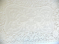 Vintage Lace Paper Placemats Perfect for Large Holiday Dinner Parties - ChaseyBlueVintage