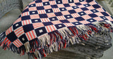 Vintage Nautical Flag Throw Blanket Lap Warmer - ChaseyBlueVintage
