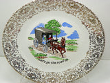 Colorful Collection of 3 Vintage Amish Plates for Your Wall or Shelf Decor - ChaseyBlueVintage