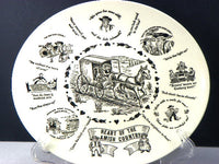 3 Beautiful Vintage Amish Themed Plates Wall Decorator Dishes - ChaseyBlueVintage