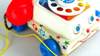 Vintage Chatter Telephone 1960s Model by Fisher Price - ChaseyBlueVintage