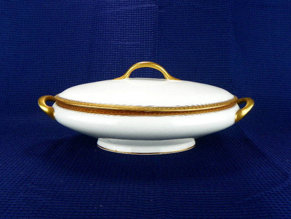 Rare Limoges Serving Bowl with Lid by Nathan Dohrmann - ChaseyBlueVintage