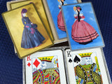 Vintage Playing Cards Choice of Double Deck Sets Canasta Victorian Ladies Duck Decoys Pinochle 60s Decor Chairs - ChaseyBlueVintage