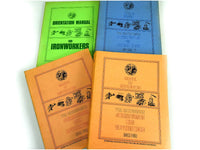 Vintage Ironworker Manuals Books Training Reference Illustrated Ephemera Paper Chaseybluevintage
