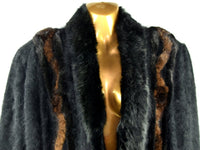 Beautiful 60s Vintage Angora Rabbit Coat with Knit Cuffs - Chaseybluevintage
