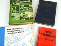 Vintage Iron Works Technical Books Your Choice Steel Construction Chaseybluevintage