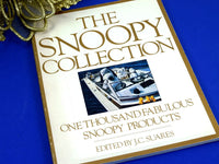 The Snoopy Collection Book 1st Edition 1982 History and Information - Chaseybluevintage