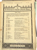 Choral Religious Cantata Sheet Music Over 80 Sheets Ephemera Craft Paper - ChaseyBlueVintage