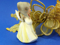 Vintage May Birthday Girl Angel Porcelain Figurine - ChaseyBlueVintage