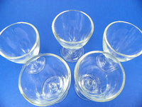 Vintage Nautical Cordial Stemware Sipping Glasses with Etched Dolphin - ChaseyBlueVintage