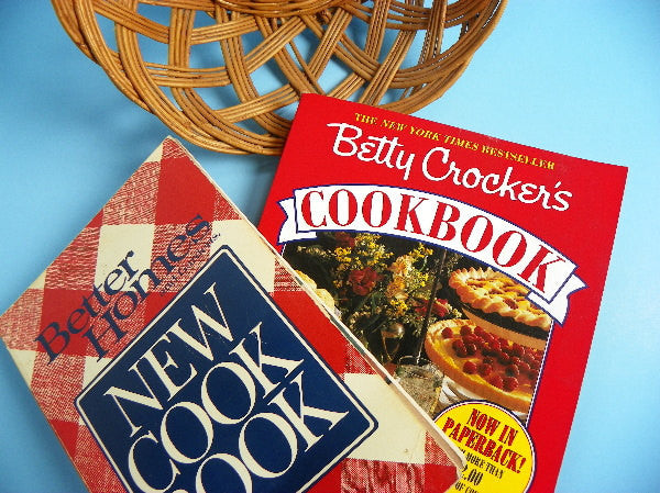 Vintage Cookbooks Betty Crocker Plus Better Homes - ChaseyBlueVintage