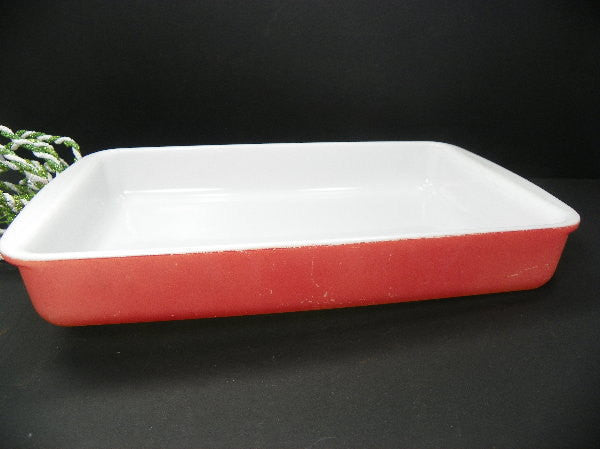 Vintage Pyrex Flamingo Pink Baking Dish 2 Qt Ovenware Casserole Dish - ChaseyBlueVintage