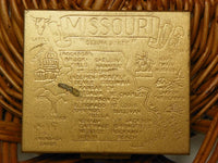 Missouri Souvenir Coin Slot Tin Purse - ChaseyBlueVintage