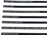 1994 Dun and Bradstreet Financial Business Learning Course 3 Books Budgeting and Analysis - Chaseybluevintage