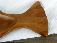 Vintage Large Wood Fish Platter Party Tray - ChaseyBlueVintage
