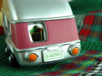 Vintage Camper Ornament Hallmark Keepsake Christmas Travels with Santa - ChaseyBlueVintage