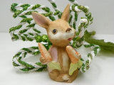 Vintage Easter Bunny Figurine Porcelain by Home Interior - ChaseyBlueVintage