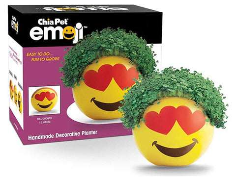 emji chia pet product and packaging