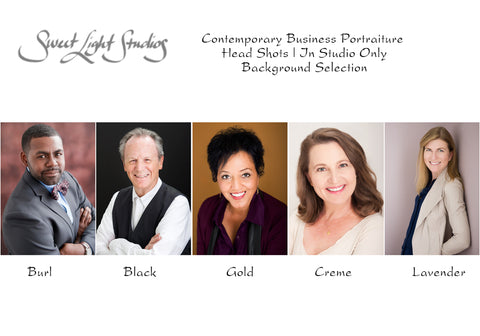 Contemporary Business Portraiture Background Selections