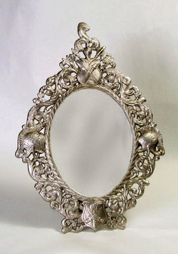 MIRROR & FRAME- PEWTER Finish