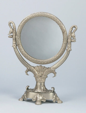 "MIRROR & FRAME/SWAN 16""tall"