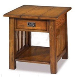 New Style Antique Wooden End Table w/ Drawer