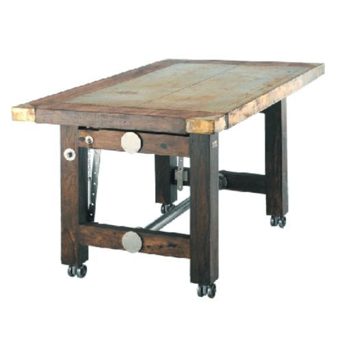 Wooden Engineer's Table