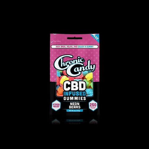 Chronic Candy 250 Mg CBD Gummies